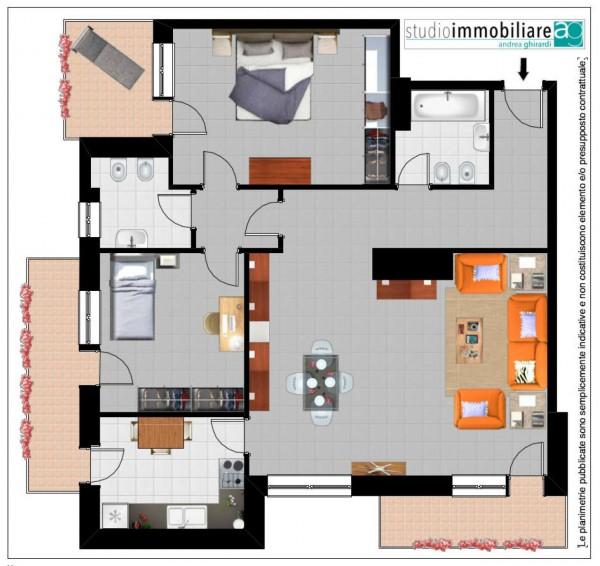 Appartamento in vendita a Genova, Sestri Ponente, Con giardino, 110 mq - Foto 5