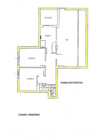 Appartamento in vendita a Cesano Maderno, Con giardino, 149 mq - Foto 3