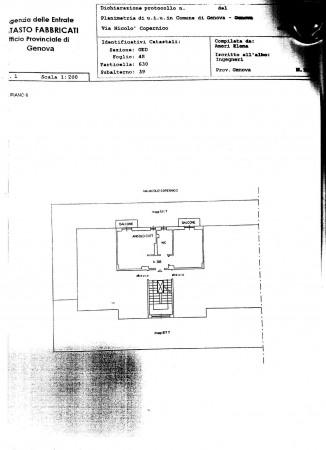 Appartamento in vendita a Genova, Arredato, 55 mq - Foto 2