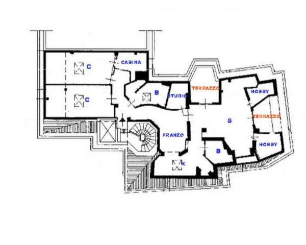 Appartamento in vendita a Milano, Santa Maria Valle, Con giardino, 145 mq - Foto 7