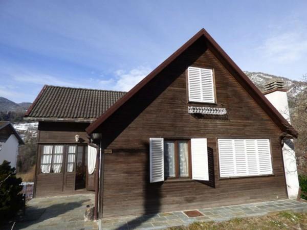 Villa in vendita a Antey-Saint-Andrè, Frazione Petit Antey, Arredato, con giardino, 137 mq - Foto 18