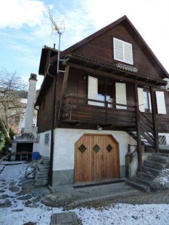 Villa in vendita a Antey-Saint-Andrè, Frazione Petit Antey, Arredato, con giardino, 137 mq - Foto 26
