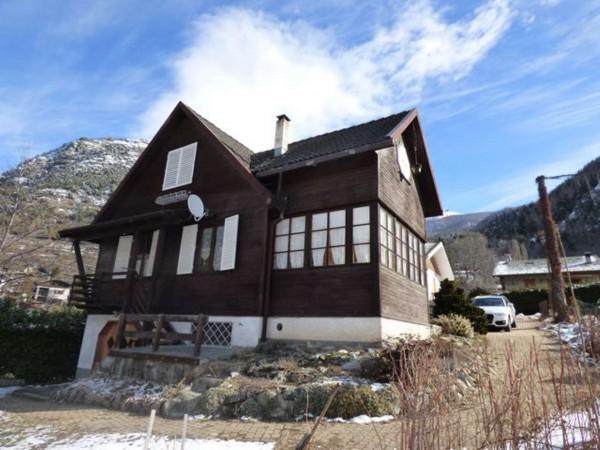 Villa in vendita a Antey-Saint-Andrè, Frazione Petit Antey, Arredato, con giardino, 137 mq - Foto 24