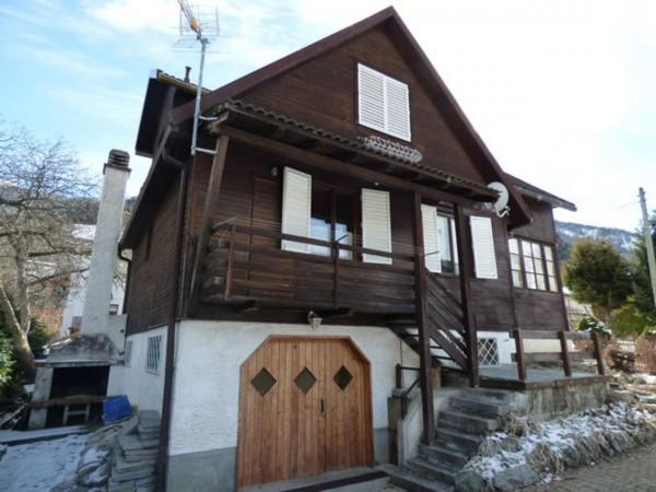 Villa in vendita a Antey-Saint-Andrè, Frazione Petit Antey, Arredato, con giardino, 137 mq - Foto 27