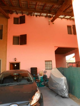 Casa indipendente in vendita a Trescore Cremasco, Centro, 110 mq