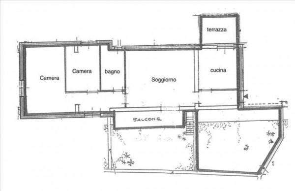 Appartamento in vendita a Siena, Con giardino, 83 mq - Foto 2