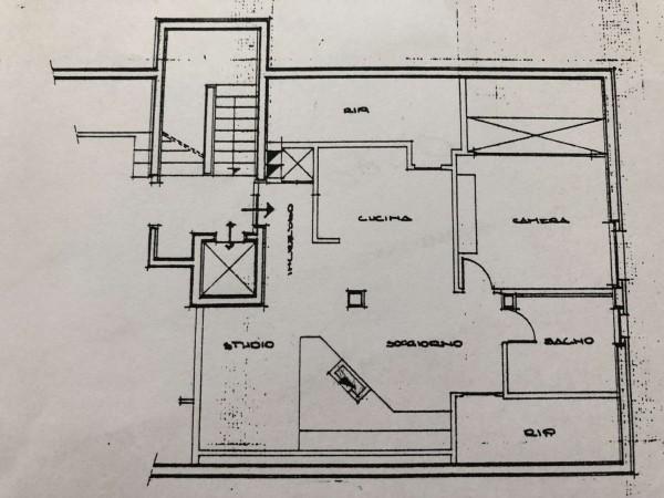 Appartamento in vendita a Corciano, Olmo, Con giardino, 70 mq - Foto 2