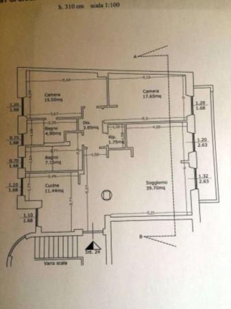 Appartamento in vendita a Roma, Prati, 125 mq - Foto 3