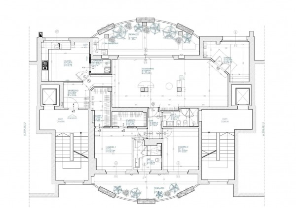 Appartamento in vendita a Milano, Affori Centro, 155 mq - Foto 18