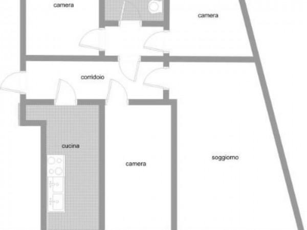 Appartamento in vendita a Varese, Centro, 155 mq - Foto 4