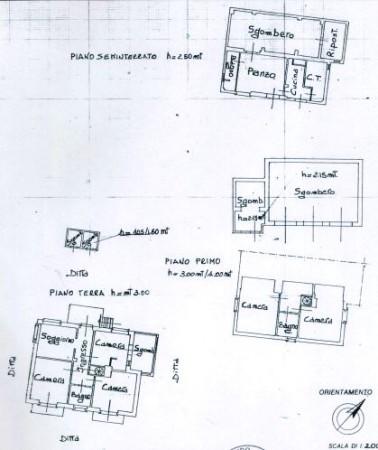 Casa indipendente in vendita a Cocconato, Foino Tabiella, Con giardino, 262 mq - Foto 2