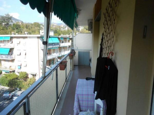 Appartamento in vendita a Rapallo, Adiacenze Via F. Baracca, Con giardino, 75 mq - Foto 1
