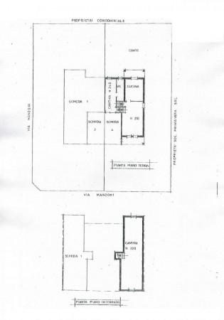 Villa in vendita a San Zenone al Lambro, Residenziale, Con giardino, 205 mq - Foto 2