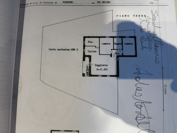 Appartamento in vendita a Torreano, Con giardino, 100 mq - Foto 4