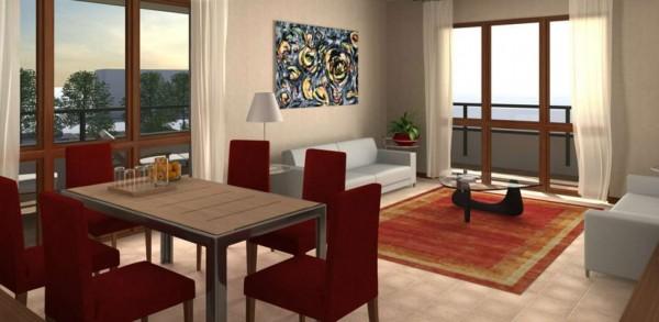 Appartamento in vendita a Milano, Con giardino, 104 mq