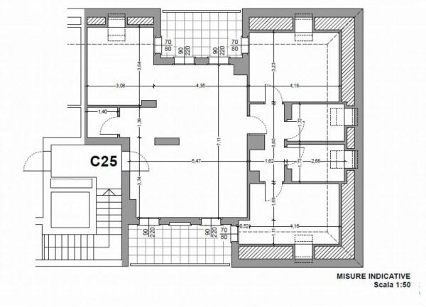 Appartamento in vendita a Milano, Con giardino, 104 mq - Foto 3