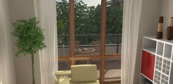 Appartamento in vendita a Milano, Con giardino, 104 mq - Foto 5