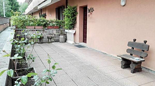 Villetta a schiera in vendita a Lissone, Semicentro, Con giardino, 190 mq - Foto 21
