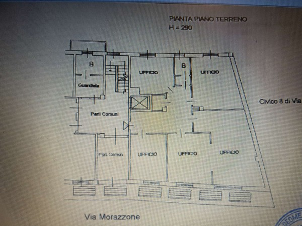 Ufficio in vendita a Varese, Centro Storico Zona Tribunale, 155 mq - Foto 4