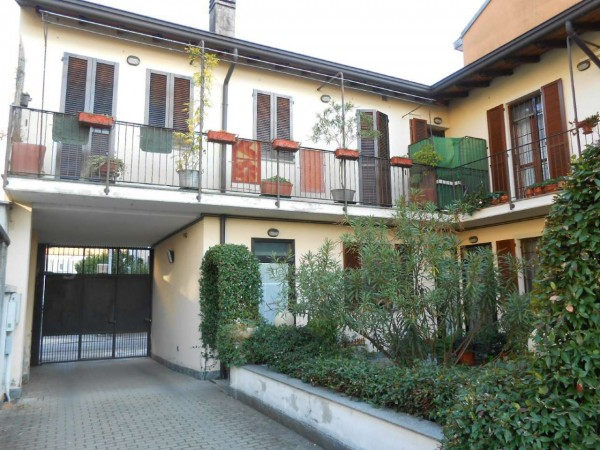 Casa indipendente in vendita a Milano, Con giardino, 72 mq - Foto 12