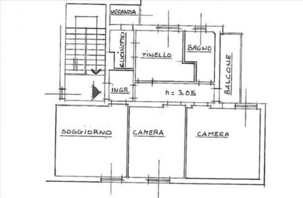Appartamento in vendita a Siena, Arredato, 80 mq - Foto 2