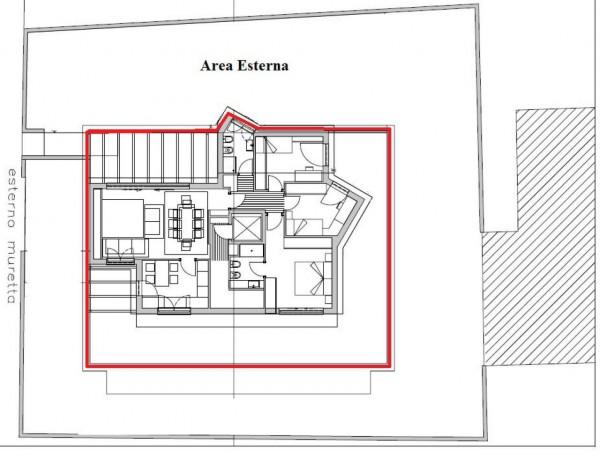 Appartamento in vendita a Padova, Prato Della Valle, Con giardino, 180 mq