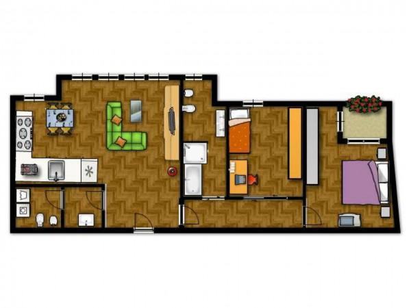 Appartamento in vendita a Senago, Castelletto Centro, 95 mq - Foto 2