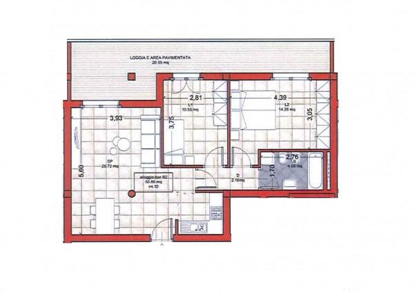 Appartamento in vendita a Roma, Colle Oliva, Con giardino, 91 mq - Foto 8