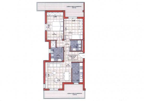 Appartamento in vendita a Roma, Colle Oliva, Con giardino, 91 mq - Foto 2
