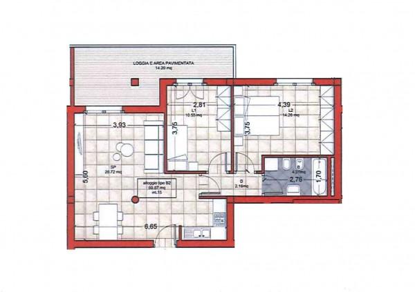 Appartamento in vendita a Roma, Colle Oliva, Con giardino, 91 mq - Foto 6