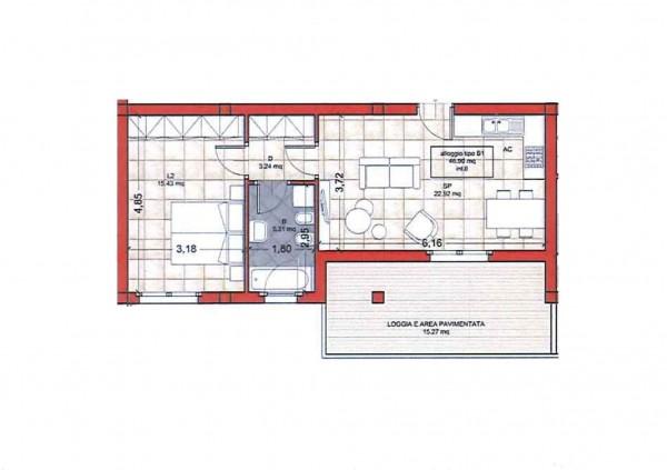 Appartamento in vendita a Roma, Colle Oliva, Con giardino, 65 mq - Foto 3
