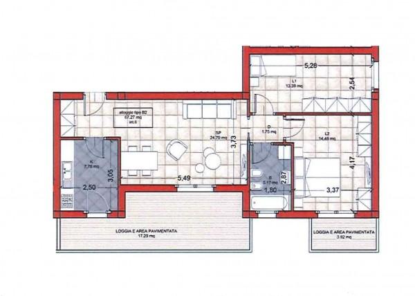 Appartamento in vendita a Ciampino, Colle Oliva, Con giardino, 91 mq - Foto 10