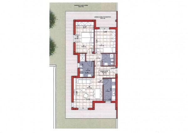 Appartamento in vendita a Ciampino, Colle Oliva, Con giardino, 91 mq - Foto 4