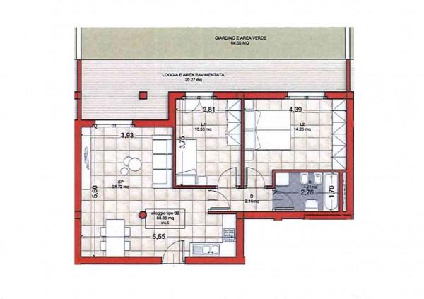 Appartamento in vendita a Ciampino, Colle Oliva, Con giardino, 91 mq - Foto 11