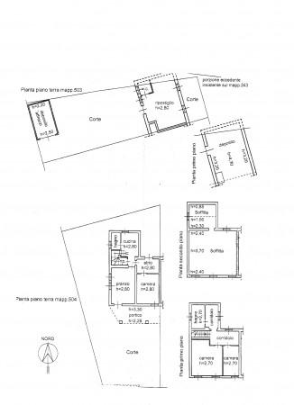 Casa indipendente in vendita a Bertiolo, Con giardino, 328 mq - Foto 3
