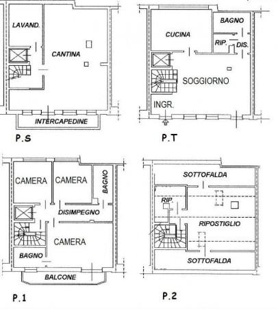 Appartamento in vendita a Garbagnate Milanese, Centro, Arredato, 175 mq - Foto 2