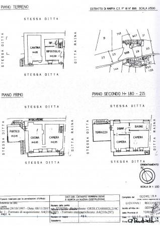 Rustico/Casale in vendita a Viù, Viu, Con giardino, 150 mq - Foto 3