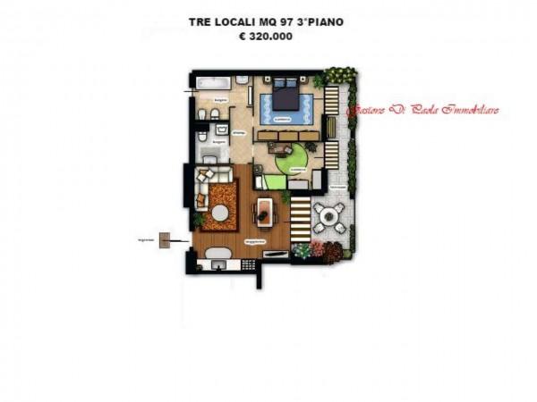 Appartamento in vendita a Milano, Precotto, Con giardino, 52 mq - Foto 5