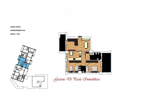 Appartamento in vendita a Milano, Portello, Con giardino, 125 mq - Foto 2