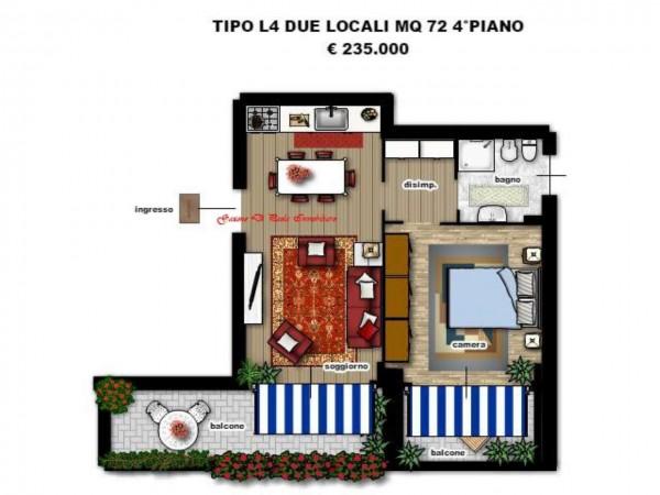 Appartamento in vendita a Milano, Portello, Con giardino, 174 mq - Foto 4