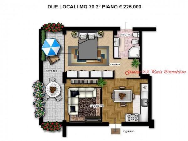 Appartamento in vendita a Milano, Portello, Con giardino, 174 mq - Foto 15