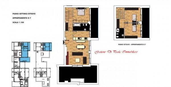 Appartamento in vendita a Milano, Portello, Con giardino, 174 mq - Foto 2