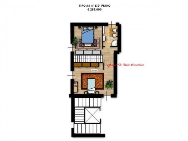 Appartamento in vendita a Milano, Precotto, Con giardino, 65 mq - Foto 6