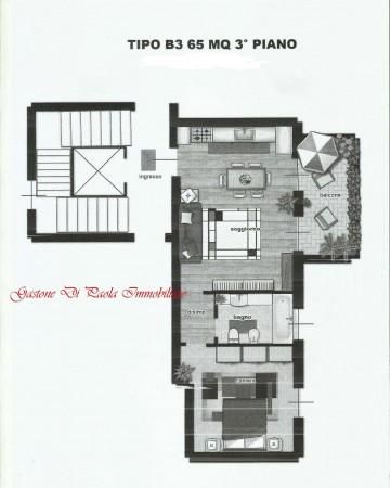 Appartamento in vendita a Milano, Precotto, Con giardino, 65 mq - Foto 22