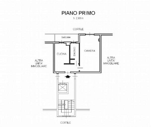 Appartamento in vendita a Milano, Con giardino, 45 mq - Foto 3