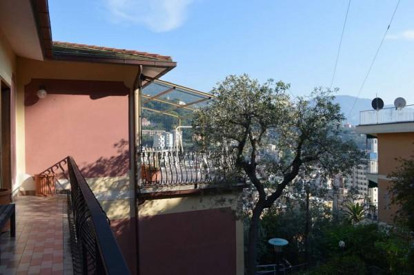 Appartamento in vendita a Recco, Montefiorito, Con giardino, 80 mq - Foto 19