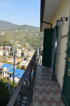Appartamento in vendita a Recco, Montefiorito, Con giardino, 80 mq