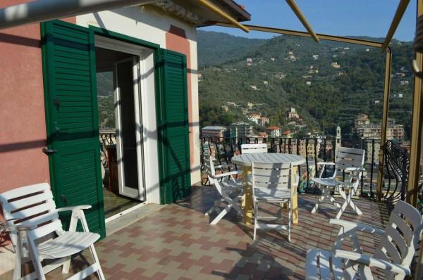 Appartamento in vendita a Recco, Montefiorito, Con giardino, 80 mq - Foto 9