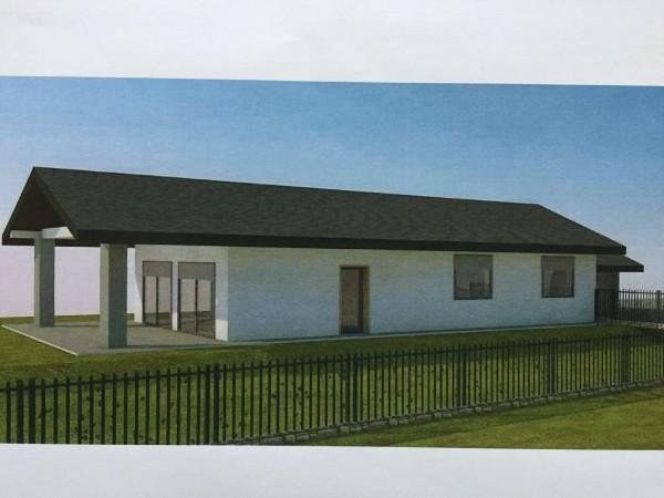Villa in vendita a Besozzo, Con giardino, 150 mq