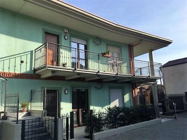 Appartamento in vendita a Candiolo, Centrale, Con giardino, 82 mq - Foto 1
